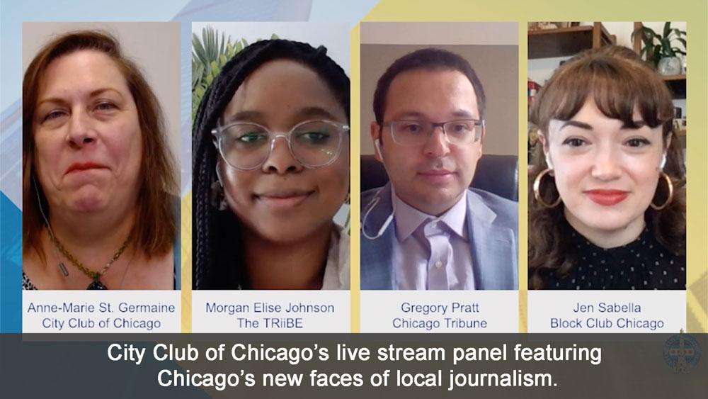 Live stream Panel virtual event
